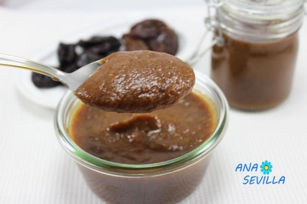 Mermelada de dátiles y pasas (Contra el estreñimiento) cocina tradicional Ana Sevilla