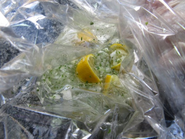 Pollo asado al limón olla GM