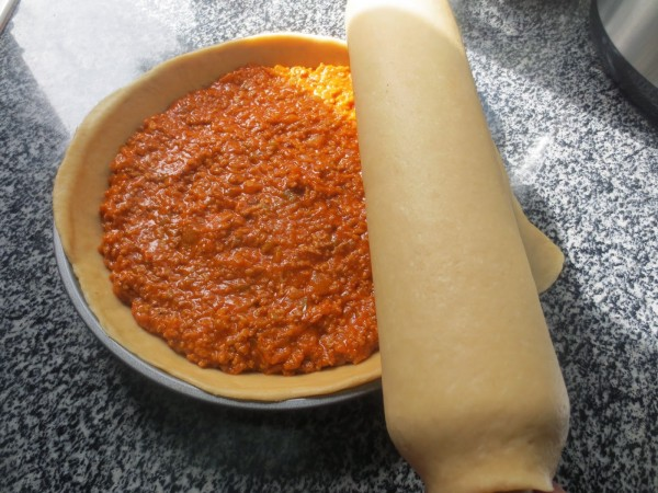 Empanada de carne y tomate Thermomix
