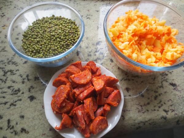 Potaje de soja verde olla GM