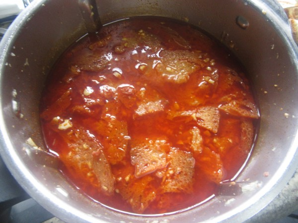Sopa castellana Thermomix