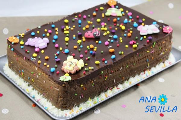 Tarta de chocolate y galletas Thermomix Ana Sevilla