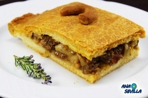 Empanada de carne de ternera Ana Sevilla cocina tradicional
