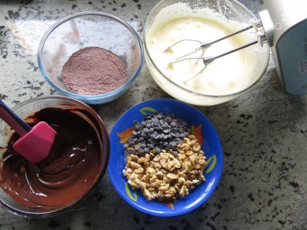Galletas brownie