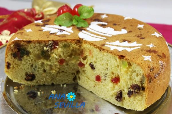 Plum-cake de frutas escarchadas olla GM Ana Sevilla