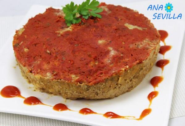 Pastel de carne americano con tomate olla GM