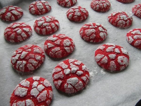 Galletas craqueladas red-velvet Thermomix