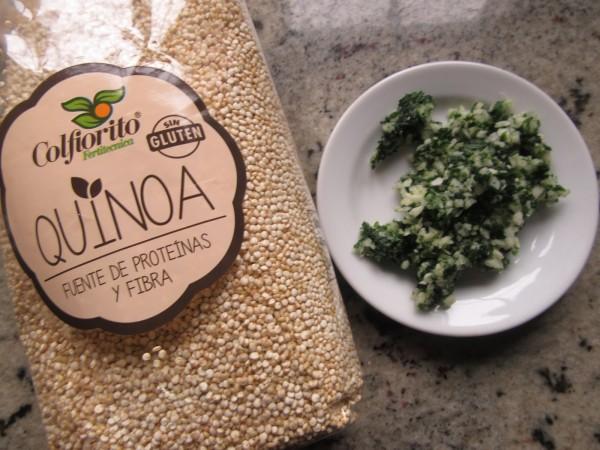 Quinoa con verduras Thermomix