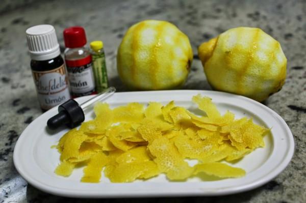 Mantecados de limón Thermomix