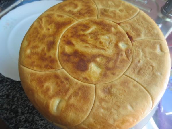 Pastel empanadilla de merluza y gambas olla GM