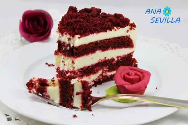Tarta o helado Red- velvet Thermomix