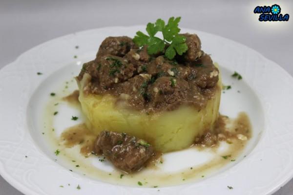 Carne guisada de mamá Ana Sevilla con Thermomix