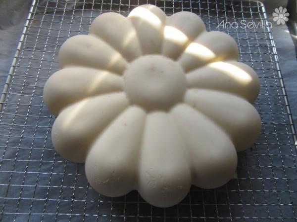 Mousse de chocolate blanco glaseado Thermomix
