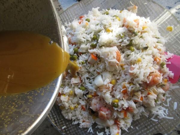 Ensalada de arroz marinera Thermomix