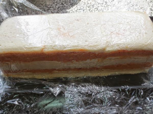 Pastel de atún bicolor Thermomix