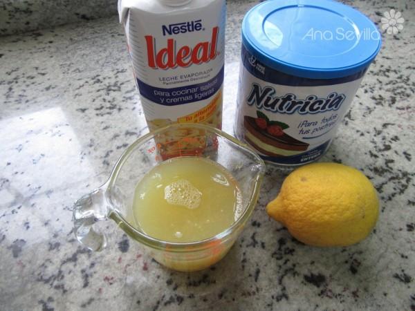 Mousse de limón exprés Thermomix