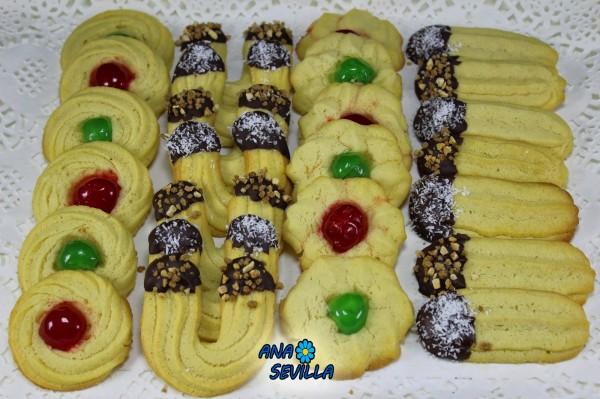 Pastas de té con boquilla Ana Sevilla Con Thermomix