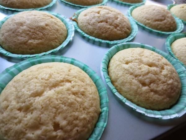 Cup cakes de limón Thermomix