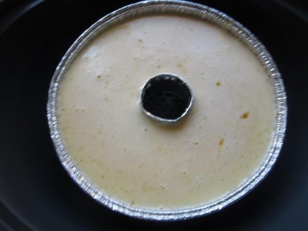 Flan de huevo y manzana con Thermomix
