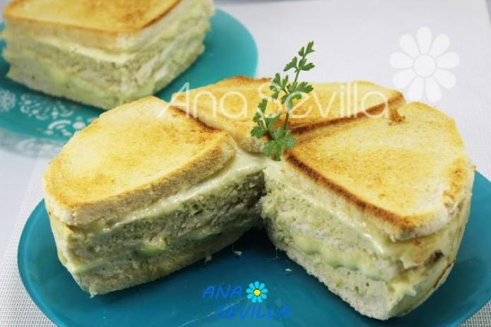 Sandwich de pollo olla GM
